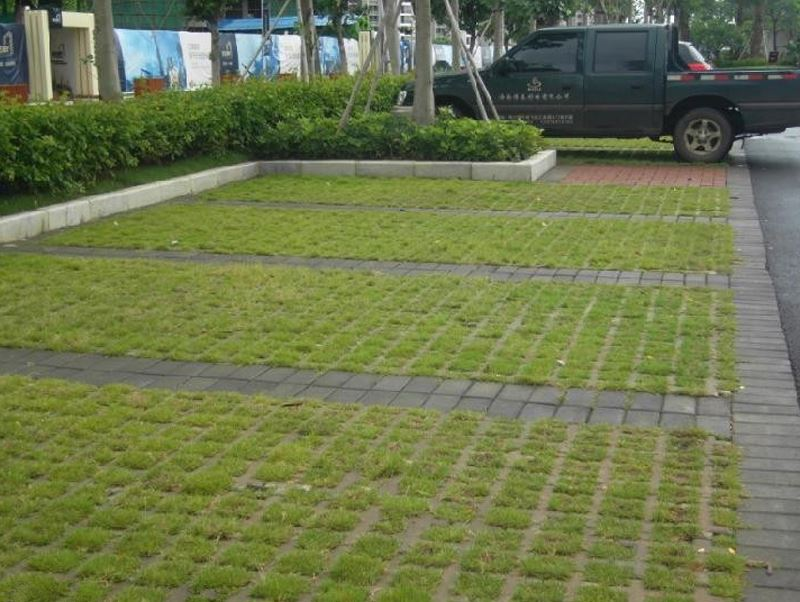 植草砖在国家倡导环保背景下发展的作用