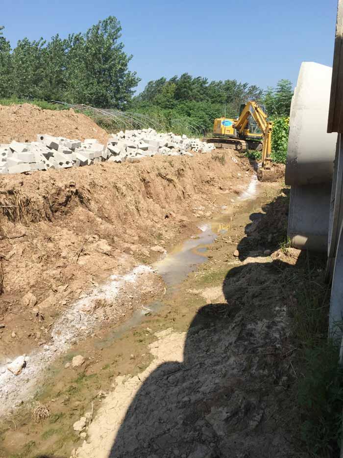 乡村道路排水